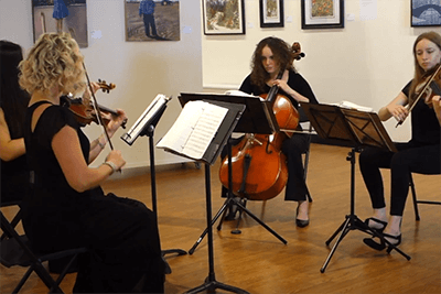 Morris String Quartet Shape of You