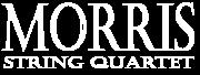 Morris String Quartet white logo